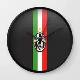 team juventus Wall Clock