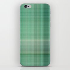 Green Checked iPhone & iPod Skin