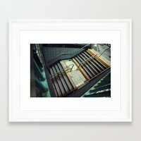 subway Framed Art Prints featuring Subway by Sascha Selli