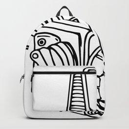 Medium Format SLR Camera Drawing Backpack