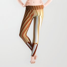 Bending the Bars of Rules - Pure Fractal Abstract Leggings