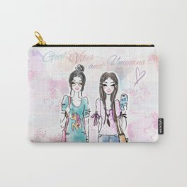 Unicorn Vibes Carry-All Pouch