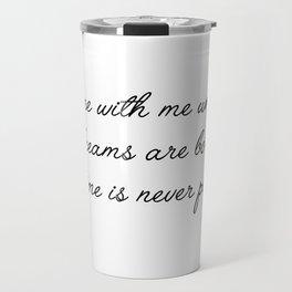 come with me Travel Mug