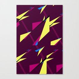Geometric Zephyr Canvas Print