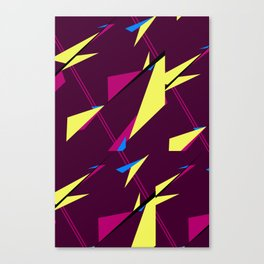 Geometric Zephyr Canvas Print
