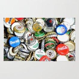 Bottle Caps Painting | Vintage Rug