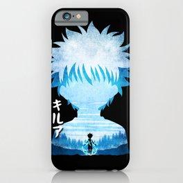 Minimalist Silhouette Killua iPhone Case