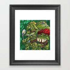 Goblin Pie Crew (v.1) Framed Art Print