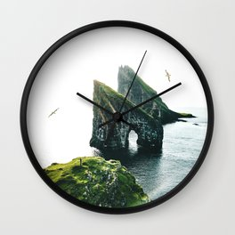 faroe islands Wall Clock