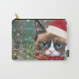 ~ Meowy Christmas ~ Carry-All Pouch
