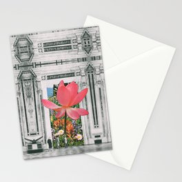 The magical Lotus flower Stationery Cards