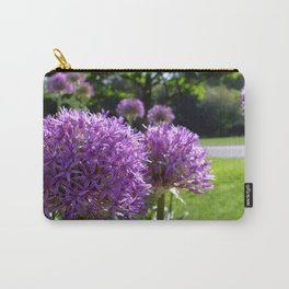 Purple Allium Giganteum Carry-All Pouch