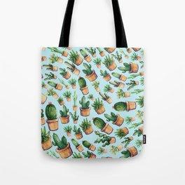 cactus wave Tote Bag