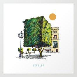 Sevilla 2 Art Print