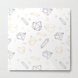 Crystall powe Metal Print