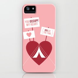 Occupy My Heart iPhone Case