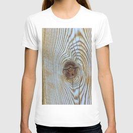 Wooden Knot Texture T-shirt