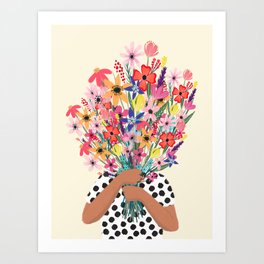 Foral Bouquet Art Print
