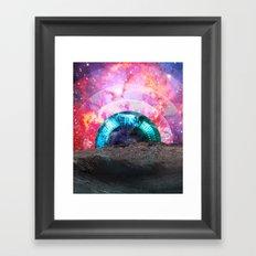 Diamond Eye Framed Art Print