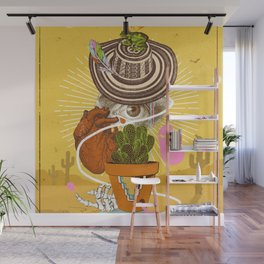 DESERT VISIONS Wall Mural