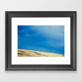 Bluest Sky Framed Art Print