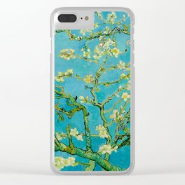 Almond Blossoms Painting by Vincent van Gogh Oil Painting Clear iPhone Case