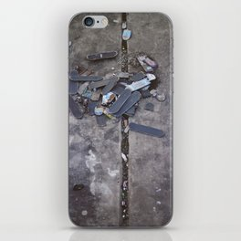 Skates Cementery iPhone Skin