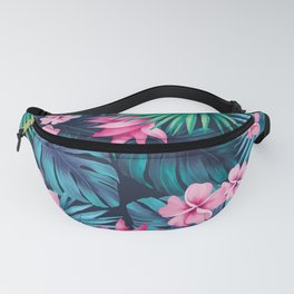 Tropical flowers Fanny Pack