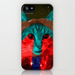 Inbread Cat with Halo iPhone Case