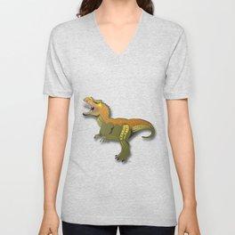 Dinosaur - 'A Fantastic Journey' Unisex V-Neck