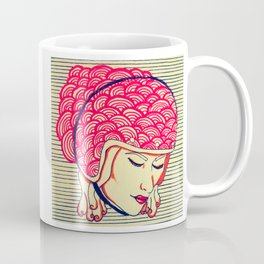 Moto Girl Coffee Mug