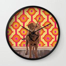 Hersh-ee Wall Clock