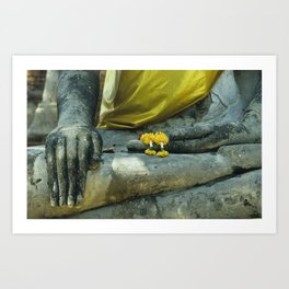 Buddha in Thailand Art Print