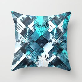 Avalon City: Eden District Throw Pillow