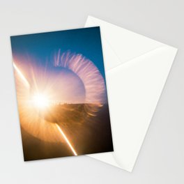 Jockey's Ridge at Sunset - Holga film photograph Stationery Cards