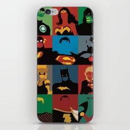 Justice League iPhone Skin