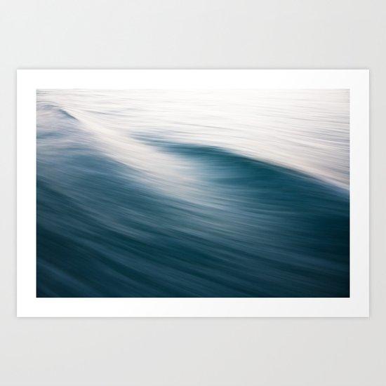 Water flowing Art Print