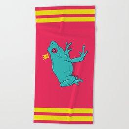 Frawg Beach Towel