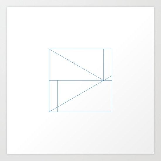 #287 Billiard room – Geometry Daily Art Print