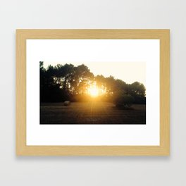 Country Side Mallorca Framed Art Print