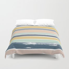 Pastel Stripes Duvet Cover