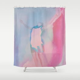 Fall Out Shower Curtain