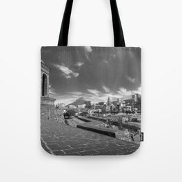 View of Cape Town from The Castle of Good Hope Tote Bag