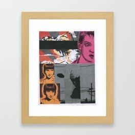 Collage #2 Framed Art Print