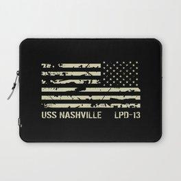 USS Nashville Laptop Sleeve
