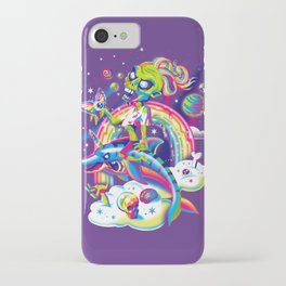 Rainbow Apocalypse iPhone Case