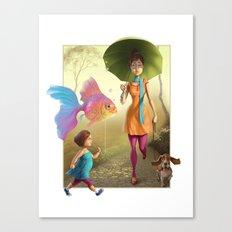 Pet Love Canvas Print