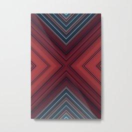 Red Floor Metal Print