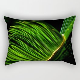 EMERALD FAN Rectangular Pillow