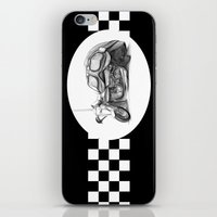 cafe racer iPhone & iPod Skins featuring Cafe Racer II by Rainer Steinke